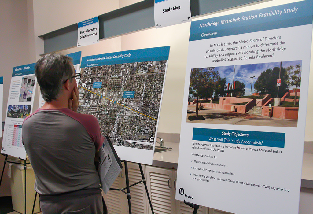 Metrolink Station Relocation Feasibility Study