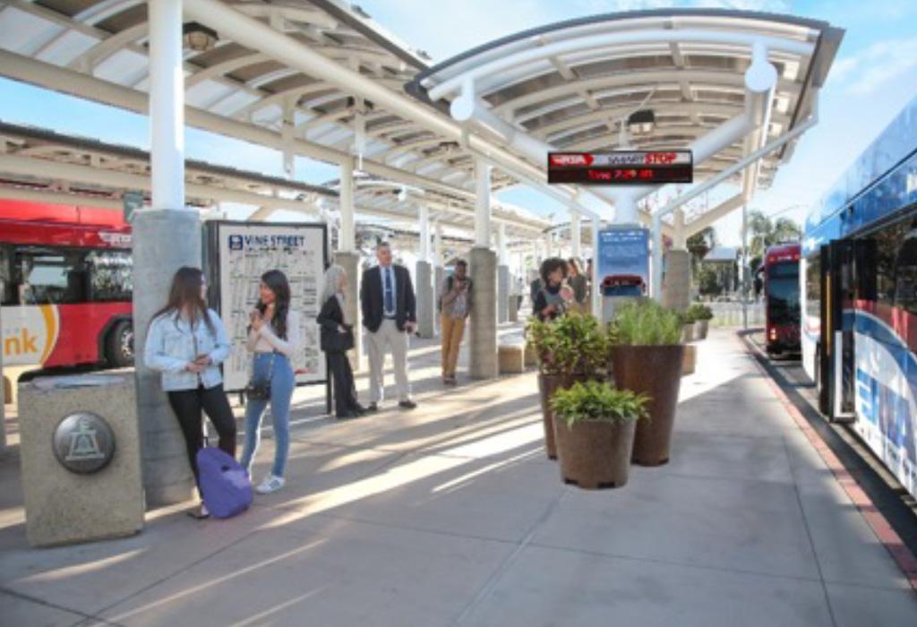 Vine Street - Riverside Mobility Hub Conceptual Plan